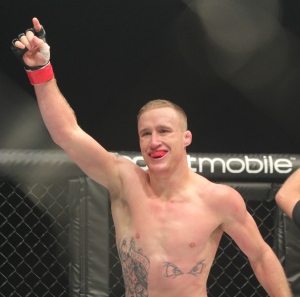 Ty Wright / DTM New Journal Justin Gaethje will defend his lightweight title against Nick Newell at WSOF 11 on NBC.